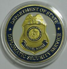 DEPARTMENT OF STATE DIPLOMATIC SECURITY SERVICES COIN