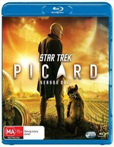 Star Trek Picard Season 1 Blu-ray BRAND NEW Region B