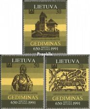 Lithuania 486-488 (complete issue) unmounted mint / never hinged 1991 Gediminas