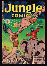 JUNGLE COMICS # 127 KAANGA 1950 GGA | Buy 3 or more comics for free shipping