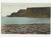 The Headlands Giants Causeway N Ireland Vintage Postcard 422a
