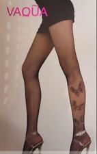 Women Sexy Stockings Fishnet Fence net with-Diamante Butterfly's hold ups