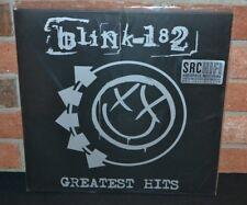 BLINK 182 - Greatest Hits, LTD Deluxe 180 Gram 2LP BLACK Vinyl #ed Gatefold NEW