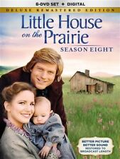 LITTLE HOUSE ON THE PRAIRIE SEASON EIGHT 8 New DVD Deluxe Remastered Edition