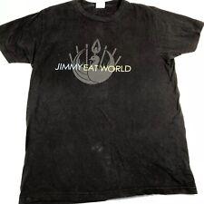 Jimmy Eat World Large Band T Shirt Vintage 2007 Bird Phoenix Black Bay Island
