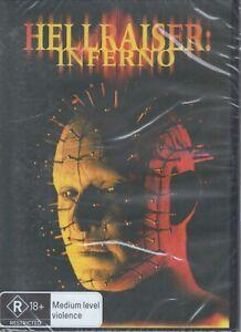 HELLRAISER: INFERNO DVD Terror-Filled Thrills (Region 4) NEW & SEALED Free Post