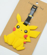 Pokemon GO Pikachu Luggage ID Tags Labels NAME ADDRESS ID SUITCASE Bag TRAVEL
