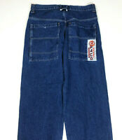 Vtg Paco Sport Jeans 34x31 JNCO Wide Leg Grunge Skater Baggy Blue Deep pockets