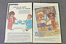 MODES ET TRAVAUX  Marie-Françoise J- Michel et Michel 1964-1984 réf 222