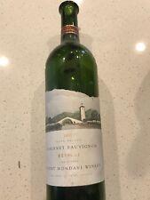 Robert Monday Reserve Cabernet 1998 (Empty wine bottle)