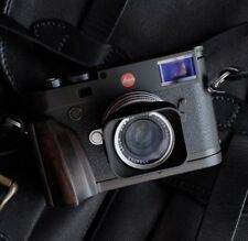 Handmade High-End Natural African Blackwood Hand Grip for Leica M10 M 10 Camera