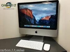"Cheap apple imac 20"" 9.1 intel core 2 duo 2.66GHz 4GB ram 320GB disque dur os x 10.11"