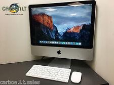 "CHEAP Apple iMac 20"" 9.1 Intel Core 2 Duo 2.66GHz 4GB RAM 320GB HDD OS X 10.11"