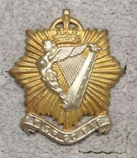 Canadian Army Badge:  Irish Regiment of Canada - Birks, bi-metal