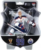 Imports Dragon Limited Edition NHL Hockey Wayne Gretzky Oilers White Jersey /950