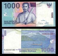 INDONESIA 1000 1,000 RUPIAH 2000/2005 P 141 UNC
