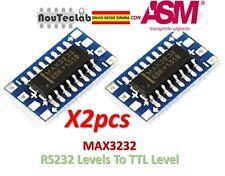 2pcs MAX3232 Mini RS232 Levels To TTL Level Module Serial Converter Board