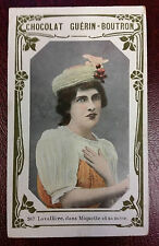 1900s French Trade Card French Actress Religious Convert Eve Lavalliere