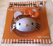 "Halloween Hello Kitty Pumpkin Push-Ins Pumpkin Decorating  ""NEW"""