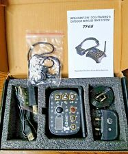 Intelligent 2 in 1 Dog Training & Outdoor Wireless Fence System Tf68