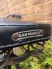 San Marco Vintage Saddle Bike Seat Retro -  Butchers Cycle Seat.