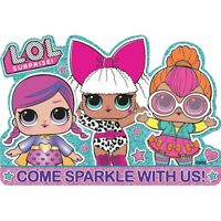LOL SURPRISE INVITATIONS PACK OF 8 PARTY FAVOURS SUPPLIES
