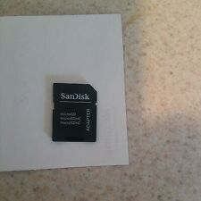 SanDisk microSD Micro SD to SD SDHC Memory Card Adapter Reader