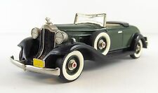 1932 Packard 8 Convertible Coupe Top Down Brooklin BRK. 6A 1/43 Scale