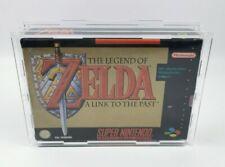 SNES Acryl Schutzbox Case SNES / N64 OVP GAMES Spiele Sammlung Nintendo