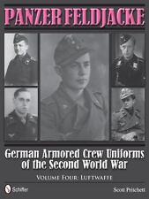 Panzer Feldjacke Book Vol 4~German Armored Crew Uniforms of WW2 Luftwaffe~NEW HC