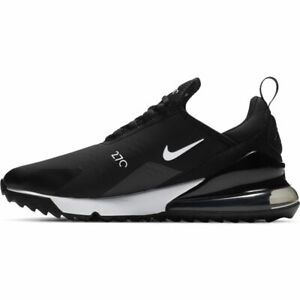 NEW Nike Air Max 270 G Golf Shoes - Black/Hot Punch/White - Drummond Golf