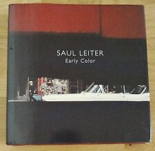 SAUL LEITER - EARLY COLOR - 2006 1ST EDITION & 1ST PRINTING - SHRINKWRAPPED COPY