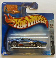 2004 Hotwheels Ferrari 308 GTB Blue Final Run European Short Card MOC!