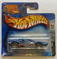 2004 Hotwheels Ferrari 308 GTB Blue Final Run European Short Card MOC!
