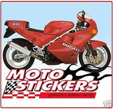 Stickers moto - Stickers Kit DUCATI 851