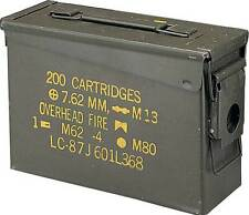US Army AMMO BOX STEEL M19A1 CAL.30 Behälter oliv
