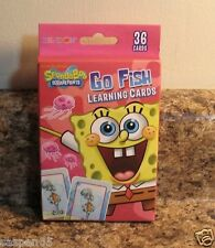 SpongeBob SquarePants GO FISH Learning Card Game NEW