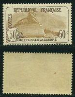 "FRANCE STAMP TIMBRE N° 153  "" ORPHELINS, 50c +50c LION DE BELFORT "" NEUF xx TTB"