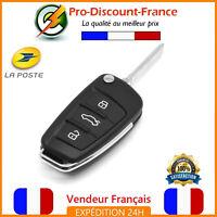 Clé Coque Télécommande Plip 3 Boutons Pour Audi A1 A3 A4 A5 A6 A8 TT Q7 Plip