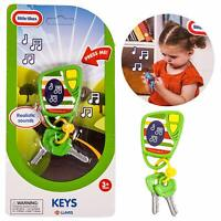 Little Tikes keyring Realistic Electronic Sounds Toy Car Keys Childrens