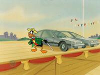 Looney Tunes Daffy Duck Original Production Cel--Quackbusters Movie