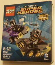 LEGO 76061 Mighty MICROS SUPEREROI BATMAN VS Catwoman DC Comics NUOVO SIGILLATO