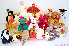 Ty Beanie Babies Collection Lot of 26 Plush Toy Retired Farm Zoo Animals