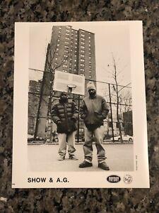 SHOWBIZ & AG PRESS PHOTO PROMO ONLY GOODFELLAS LP RARE DITC PAYDAY RECORDS 94/95