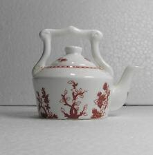 Coalport Red Indian Tree Miniature Kettle