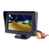4.3'' LCD TFT Pantalla Coche Monitor DVR para Coche Retrovisor Revés Cámara DVD