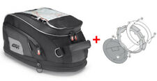Givi Tanklock Combo Kit - XS307 Xtream 15 Liter Tank Bag & BF01 Tank Ring Mount