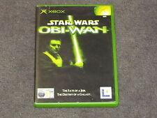Star Wars Obi-Wan Microsoft Xbox - Cheap & Complete - FREE & FAST POST Obiwan