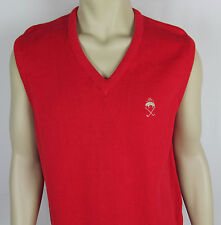 Mens Brooks Brothers Sweater Vest Golf sleeveless logo USA Made Size M
