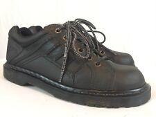 Dr. Doc Martens Oxfords Work Shoes Men's US Size 10 M Gray Leather Lace Up